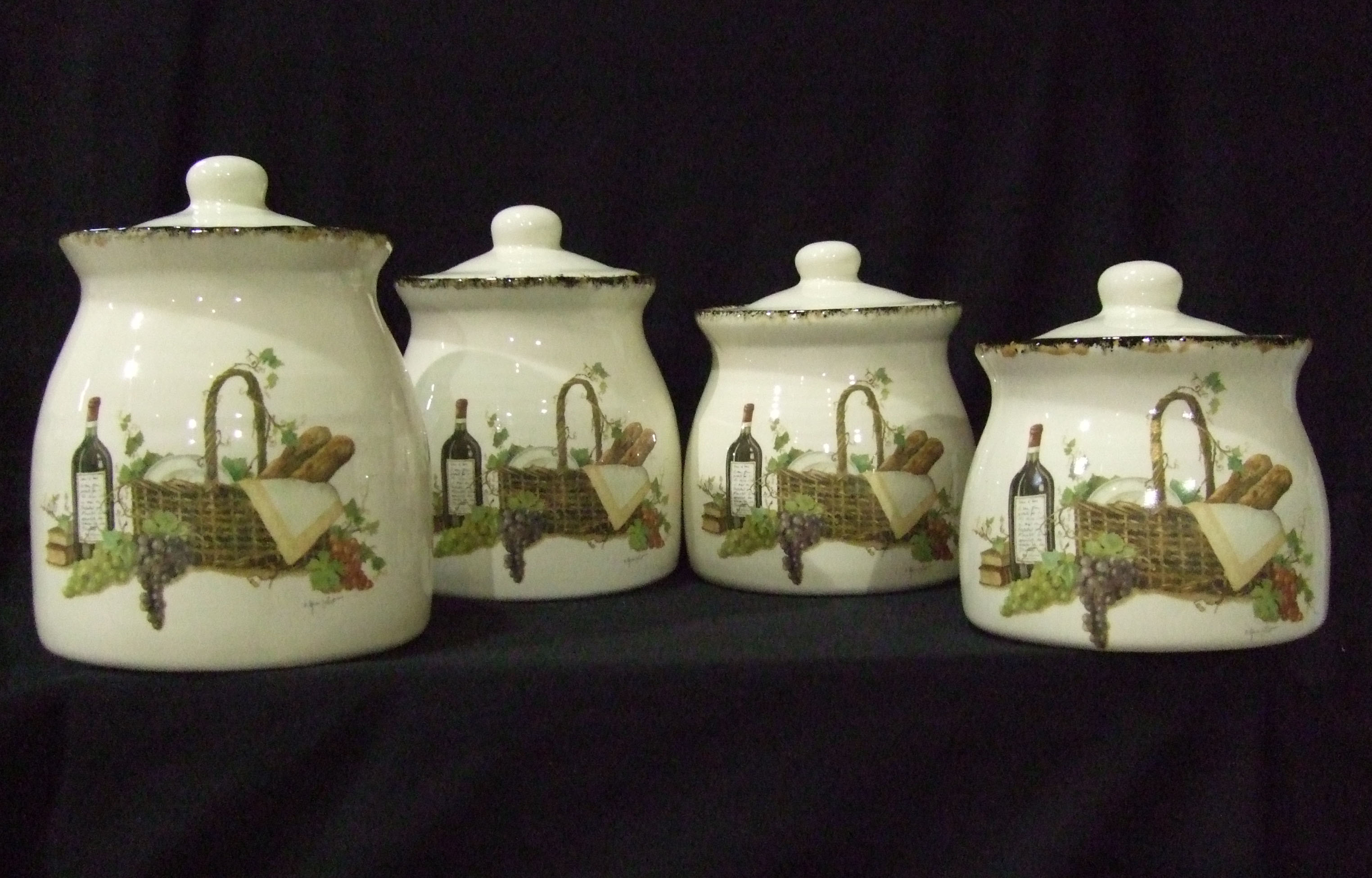 kitchen pottery hobby farm pottery provides quality custom pottery canisters canister set custom sealed